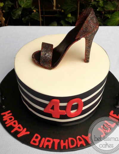 High Heel Birthday Cake