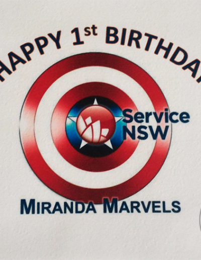 Services NSW edible image