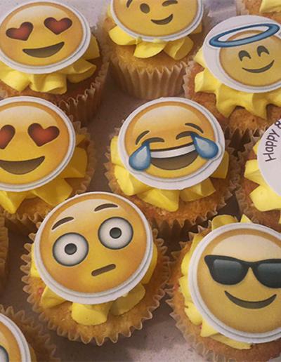 Emoji Cupcakes 2