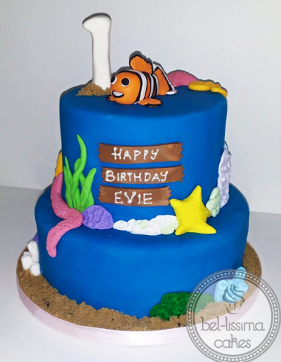 Nemo 1st Birthday Cake